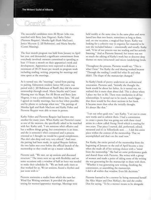 Mentorship article p.2