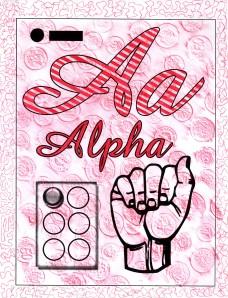 Middle School Alphabet - Aa