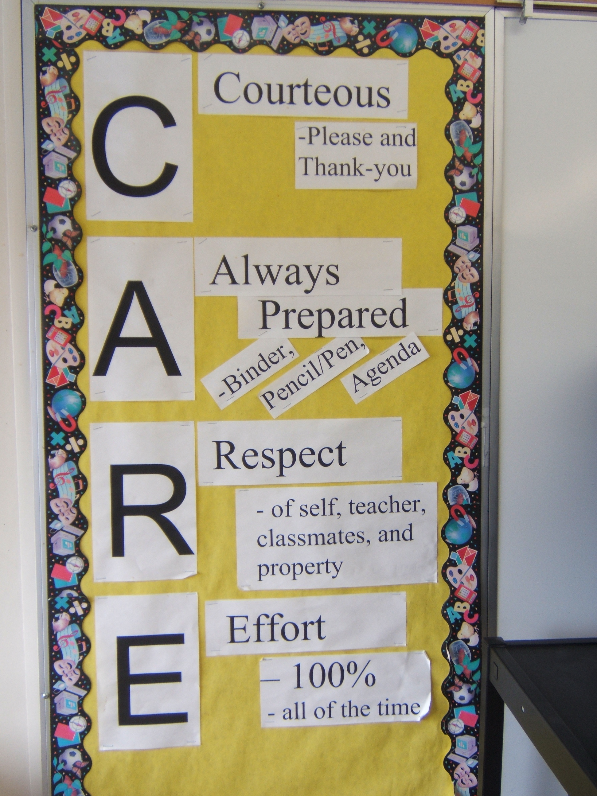 Classroom Decoration Charts For High School ~ Classroom rules idea teacher man ms
