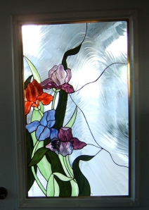 Stained glass fr. door_2