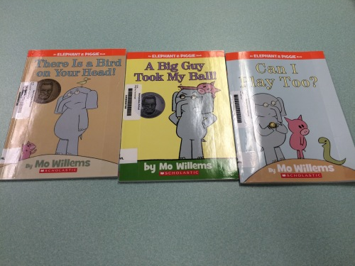 Mo Willems' books IMG_1021