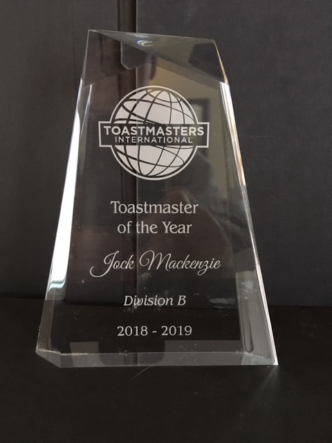 Toastmaster of the Year trophy IMG_9069.JPG